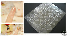 Double-Sided Adhesive Stickers False Nail Decals Glue Tape Tips Nail Sticker
