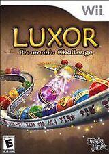 Luxor: Pharaoh's Challenge (Nintendo Wii, 2008) Complete