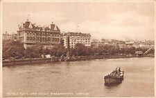 BR60639 hotel cecil and savoy embankment ship bateaux london   uk