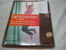 "Lightcatcher ""Jungle "" Safari Chocolate & Tan Insuldark Lining Valance 54x15"