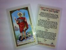 HOLY PRAYER CARDS FOR THE PRAYER TO ST. EXPEDITE SET OF 2 IN ENGLISH FREE SHIP!