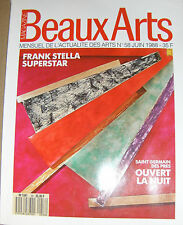 Beaux-Arts magazine N°58 Lohse Stella Totonto Ottawa Raph Gibson Van Dyck