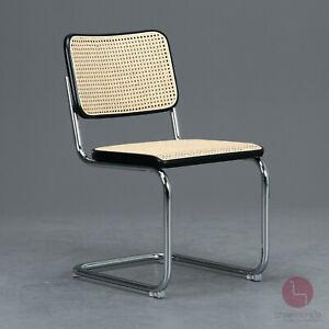 Thonet S32 Freischwinger Bauhaus Klassiker Stuhl Buche Breuer cantilever chair