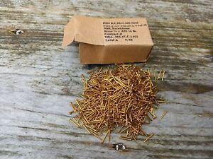3/8 Brass Brads 1000 Nails 3/8 x 0.35 length 11mm