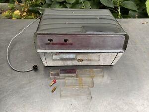 VINTAGE Arc UNDER DASH CAR AUTOMOBILE RECORD PLAYER Rca Radio Rare Gm Ford Chevy