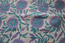 5 Yard New Indian Hand block Print Running Loose Cotton Fabrics Printed Decor