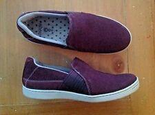 Ladies Purple Ahnu Sneakers Slip On Tennis Shoes 7.5 38.5