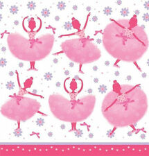 Tutu Much Fun Ballerina Ballet Party Dance Recital Birthday Tablecover 54 x 108