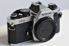 Nikon FM2n Chrome << Best-Zustand - wie neu, ohne erkennbare Gebrauchsspuren! >>