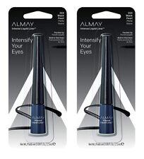 2 Pack Almay Intense Liquid Liner Flexible Tip -223 Black Pearl- New in Package