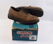 Vintage New Carolina Mens 9 EE Leather Lace Up Oxford Working Work Shoes Brown