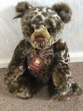 Charlie Bears Mr Twitcher Plush 2014 Collection