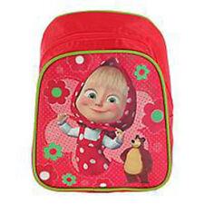 average Preschool Backpack Masha and the Bear baby bag, small backpack kids girl