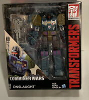 Hasbro Transformers Generations Combiner Wars Voyager Class Onslaught Figure NIB