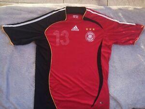 GERMANY ADIDAS AWAY JERSEY 2006-2008 MICHAEL BALLACK SIZE XL