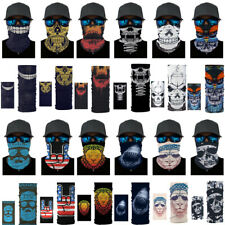 Magic Head Face Mask Neck Gaiter Biker's Tube Bandana Scarf Beanie Cap Balaclava