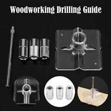 Drill Guide Kit Housing Board Pounch/Locator Pin with 3 Bushings 6mm 8mm 10mm