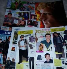 Josh Hutcherson 23 pc German Clippings Full Pages Hunger Games Poster Peta