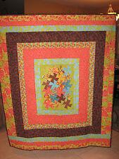 Tooty Fruity Pinwheels Quilt- handmade