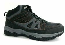 Ozark Trails Mens Hikers Leather Black Gray Size 7
