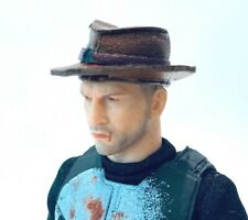"PB-CH-RG: 1/12 fedora hat for 6"" Marvel Legends, Mezco One:12 figure (no figure)"