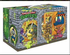 TMNT Ninja Turtles Sewer Lair Playset LAST ONE EXLUSIVE 6 Figures PREORDER JUNE