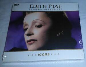 Édith Piaf - Original Recordings (2 CD Set) Icons