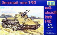 T-90 SOVIET LIGHT TANK 1/72 UNIMODEL UM 394