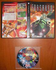 Forsaken [PC CD-ROM] Acclaim - revista 'Computer Hoy Juegos' Versión Española
