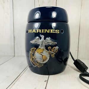 Scentsy USMC Marine Corps Full Size Wax Melt Warmer Rare Retired