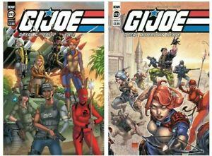 GI Joe Real American Hero #283 A B Variant Set Options NM