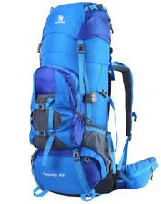 HWJIANFENG Lightweight Backpack 80L Hiking Trekking Backpack Nylon Travel for