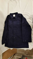 NWTS OPERATIONAL DRESS COAT USCG MILITARY STYLE NAVY BLUE JACKET TOP 48 LONG