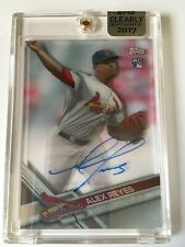 2017 Topps Clearly Authentic Baseball #Caau-Ar Alex Reyes Rc Auto