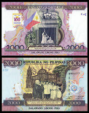 !COPY! PHILIPPINES PILIPINAS 2000 PESO 1998 BANKNOTE !NOT REAL!