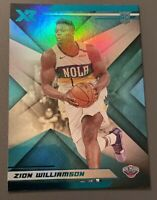 2019-20 CHRONICLES ZION WILLIAMSON RC XR TEAL SP PARALLEL ROOKIE #271 PELICANS
