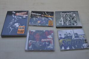 Tokio Hotel CDs (Zimmer418, Rette mich, Schrei) und DVD (Schrei-Live)