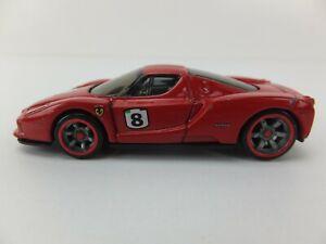 Hot Wheels Enzo Ferrari Red C21, Red Wheel Highlights