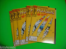 Wolverine #50  (5 copies) - 1st App. of S.H.I.V.A and the Professors Death