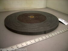 "Gray 1"" Inch Locking Slot Textile Nylon Webbing 3,500 lb Mil-Spec -100 yd Roll"
