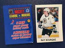 1987 OPC Mini #4  Ray Bourque HOF Bruins  NM/MT  Pack Fresh!
