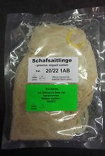 Schafsdarm,Schafsaitlinge,Saitling Kal. 20/22 1AB dopp.sort.gesalzen ca.90 Meter