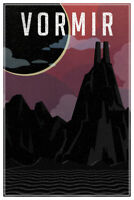 Vormir Fantasy Travel Comic Book Planet Poster 12x18 Inch Poster - 12x18