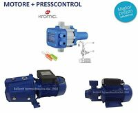 PRESSCONTROL KROMIC regolatore automatico pressione per autoclave + MOTORE