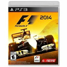 F1 2014  --  Sony PlayStation 3 PS3 Game Complete w/ Case & Manual Formula One