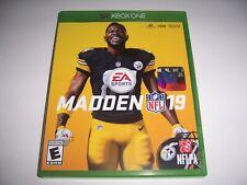 Original Box Case Replacement Microsoft Xbox One XB1 Madden 19 2019