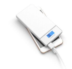 (100%Ori)PINENG PN 993 10000mAh Quick Charge 3.0 Type C Polymer Power Bank-White