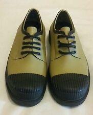 Hunter Original Derby Sneaker Basse Pioggia Stivali Khaki UK 8 EU 41