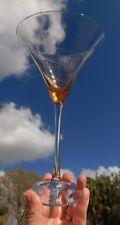 Lenox Tuscany Seasons tall Martini Glass AMBER Spiral Line have more to this set