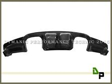 V Style Carbon Fiber Rear Bumper Diffuser Fits For 2008-2013 BMW E92 M3 Coupe